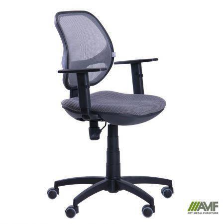 Кресло Квант/Action сиденье Квадро-6/спинка Сетка серая, фото 2
