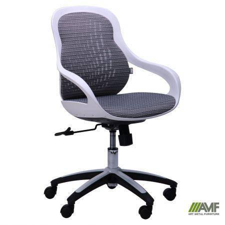 Кресло Колибри белый/сетка серая (X-10), фото 2