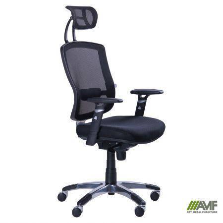 Кресло Коннект HR Сетка черная, фото 2