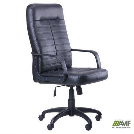 Кресло Ледли Пластик Скаден черный, фото 2