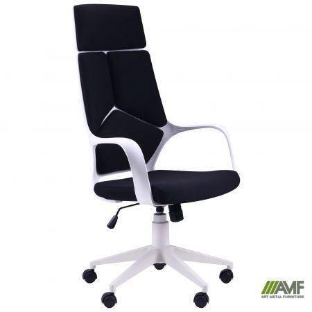 Кресло Urban HB белый, тк.черный, фото 2