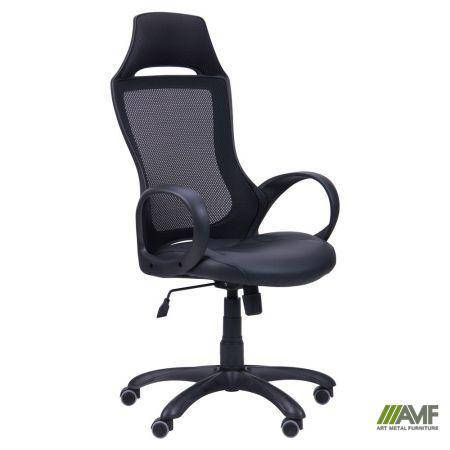 Кресло Viper черный, сиденье Неаполь N-20/спинка Сетка черная, фото 2