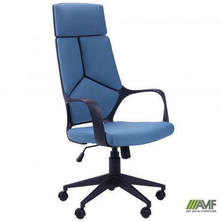 Кресло Urban HB черный, тк.синий, фото 2