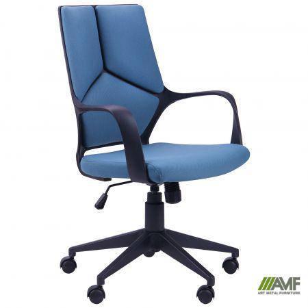 Кресло Urban LB черный, тк.синий, фото 2