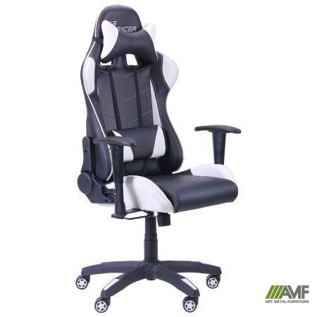 Кресло VR Racer BN-W0100 черный/белый