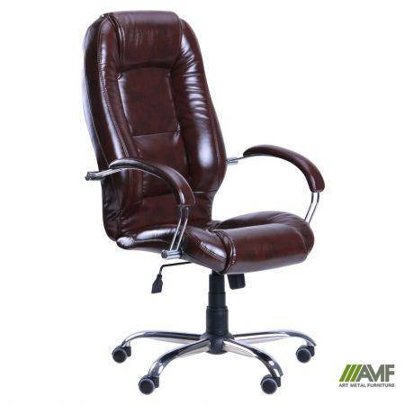 Кресло Надир Лайн Tilt Мадрас дарк Браун, фото 2