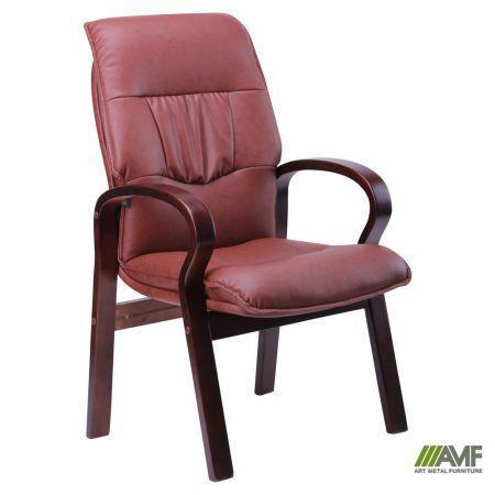 Кресло Лондон CF, кожзам коричневый (625-D Brown PU+PVC)