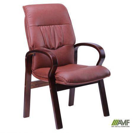 Кресло Лондон CF, кожзам коричневый (625-D Brown PU+PVC), фото 2