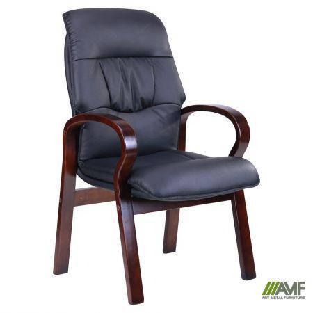 Кресло Лондон CF, кожзам черный (625-D Black PU+PVC), фото 2