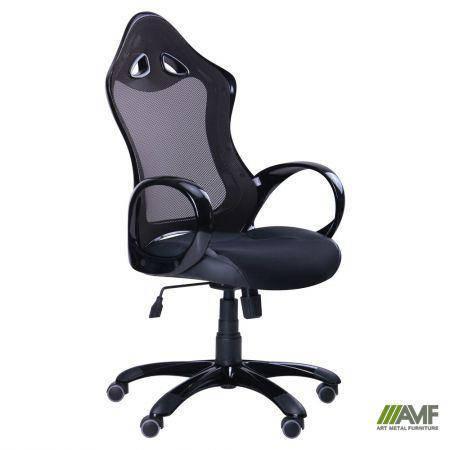 Кресло Матрикс-2 Черный, сиденье Сетка черная/спинка Сетка черная, фото 2