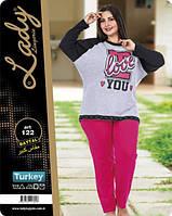 Пижама женская больших размеров LADY TEXTILE 122