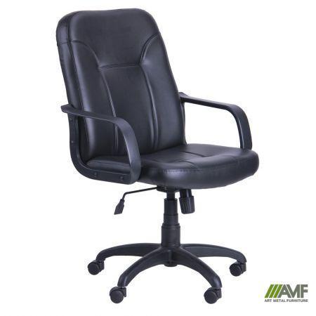 Кресло Смарт Пластик Скаден черный