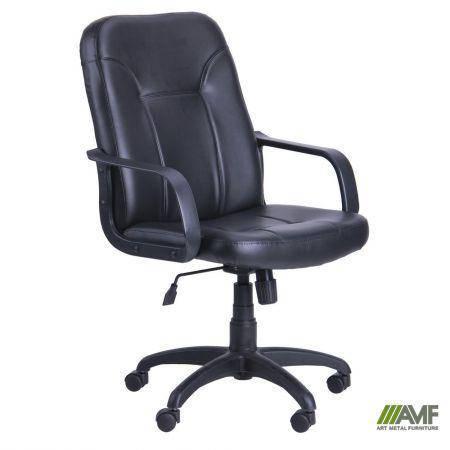 Кресло Смарт Пластик Скаден черный, фото 2