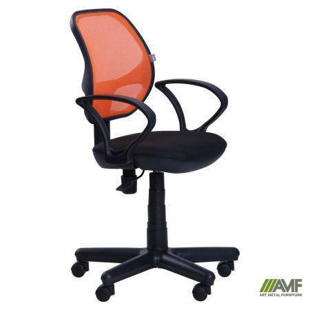 Кресло Чат/АМФ-4 сиденье А-1/спинка Сетка оранжевая, фото 2