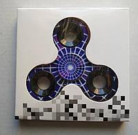Спиннер , Спинер , Спінер, Fidget spinner. разноцветный фиолетовый паутина
