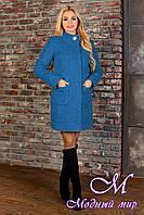 Элегантное демисезонное пальто (р. S, M, L) арт. Мелини букле 10114