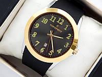 Высококачественные наручные часы Continent на каучуковом ремешке