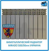 Біметалічний радіатор Mirado 500/96