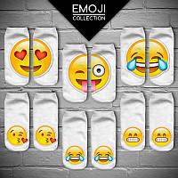Носки со смайликами Emoji (Эмодзи, Эмоджи)!, фото 1