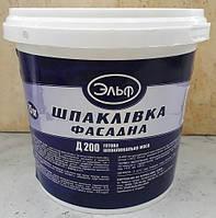 Фасадная шпаклевка Д 200 Эльф, 1,5 кг