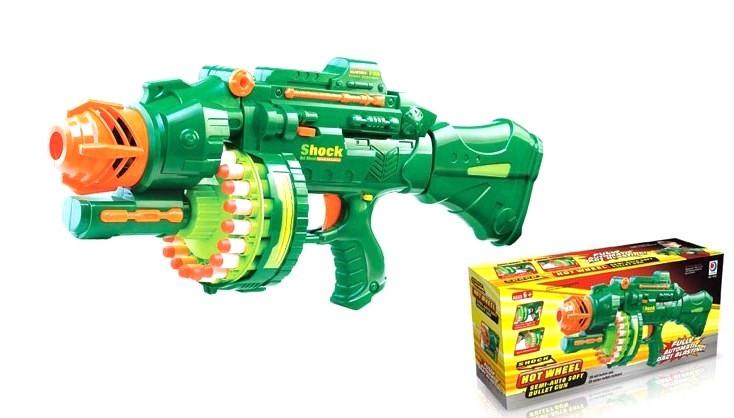 Детский автомат 7002 с мягкими пулями
