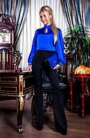 Модный костюм женский замшевый: кардиган на пуговицах и платье (4 цвета) 44, ментол