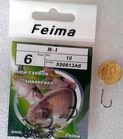 """Крючки """"Feima M1"""" №6"""