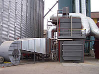 Твердотопливный тепловой генератор BPA 1500В