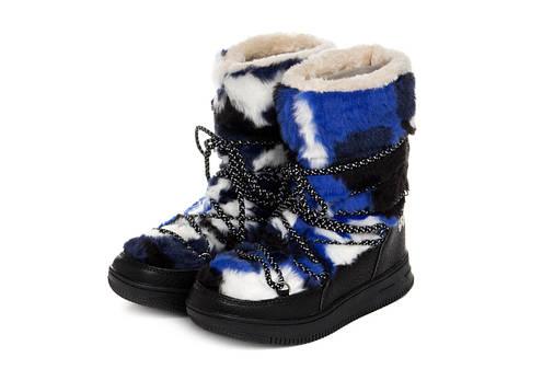 Жіночі черевики Kylie Fury Marino 36 Blue, фото 2