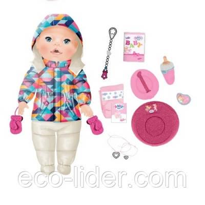 Кукла BABY BORN - ЗИМНЯЯ КРАСАВИЦА (43 см, с аксессуарами)