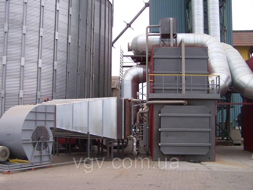 Теплогенератор для зерносушилки твердотопливный BPA 6000В