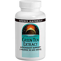 Зеленый чай экстракт (Green Tea Extract), Source Naturals, 60 таб.