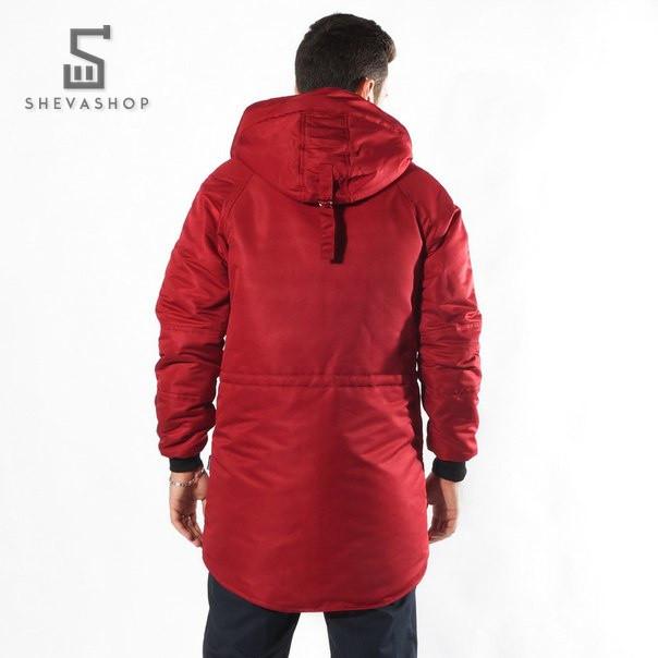 Красная Мужская Куртка Купить