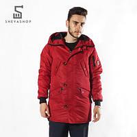 Куртка Red and Dog Onoma -красная, фото 1