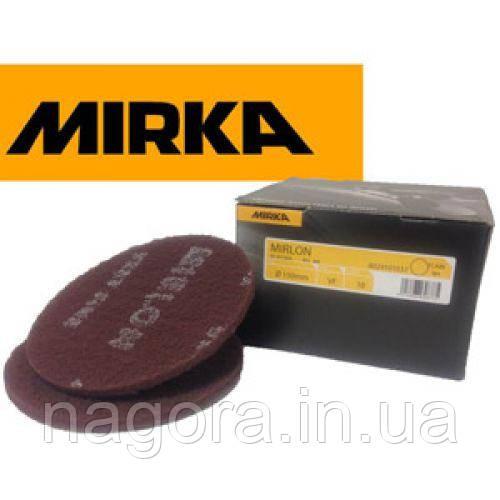 Шлифовальный войлок Mirlon 150 мм, VF 360, красный  MIRKA