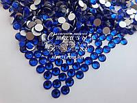 Стразы ss16 Sapphire, стекло, 1440шт. (3,8-4,0мм)