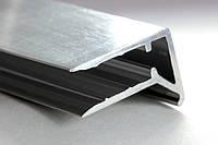 Профиль алюминиевый торцевой АПТ - 8 мм
