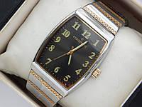 Мужские наручные часы Continent с цифрами, прямоугольные, на браслете, фото 1