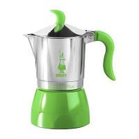 Гейзерная кофеварка Bialetti Fiammetta Summer Verde (6 чашeк - 300 мл)