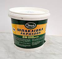 Шпатлевка акриловая Д 60, Эльф (1,5кг)