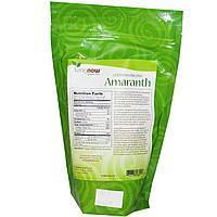 Зерно амаранта цельное, Amaranth Whole Grain, Now Foods, органик, 454 г