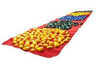 Коврик-дорожка массажныйОртопедс цветными камнями 200*40 см детский развивающийOnhillsport (MS-1213)