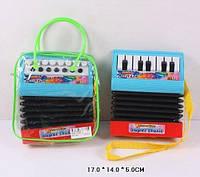 Детский аккордеон на батарейках арт. WX2111-A/B