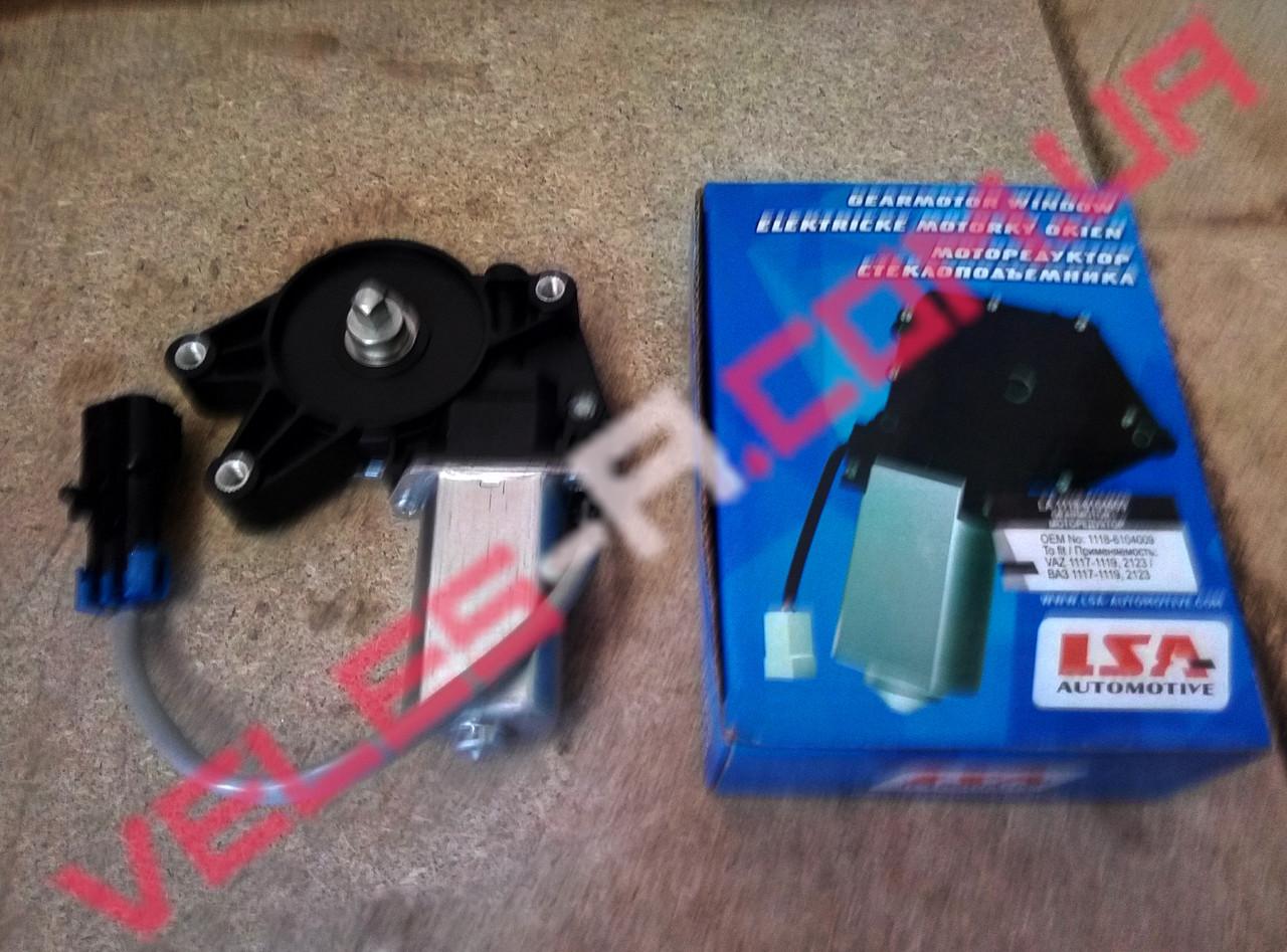 Мотор стеклоподъемника Ваз 2110, 2111, 2112 левый LSA