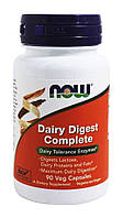 Лактаза (Dairy Digest), Now Foods, 90 капсул