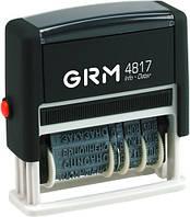 """Датер """"GRM"""" с 12 бухгалтерскими терминами"""