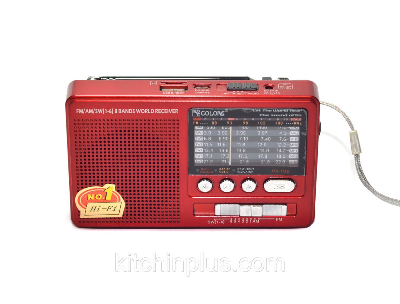 Радиоприемник RX-182 GOLON