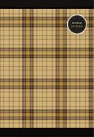 Ежедневник ART недатир. «Шотландка» (352 стр., клетка, А6) 1B362