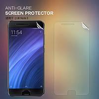 Защитная пленка Nillkin для Xiaomi Mi Note 3 матовая