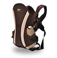 Рюкзак-кенгуру для детей KinderKraft 0-9 кг коричневый В НАЛИЧИИ